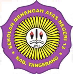 Logo Sekolah Sman 13 Kabupaten Tangerang