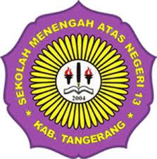 logo sman 13 kabupaten tangerang